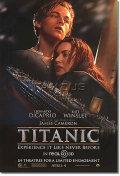【映画ポスター】 タイタニック 3D (TITANIC 3D) ship ADV-両面 オリジナルポスター