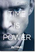 【映画ポスター】 TIME タイム (ジャスティンティンバーレイク/IN TIME) Justin Timberlake ADV-両面 オリジナルポスター