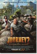 【映画ポスター】 センターオブジアース2 神秘の島 (JOURNEY 2) 両面 オリジナルポスター