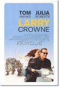 【映画ポスター】 幸せの教室 (LARRY CROWNE) 両面 オリジナルポスター