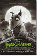 【映画ポスター】 フランケンウィニー ディズニー グッズ (FRANKENWEENIE) 両面 オリジナルポスター