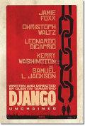 【映画ポスター】 ジャンゴ 繋がれざる者 (DJANGO UNCHAINED) ADV-両面 オリジナルポスター