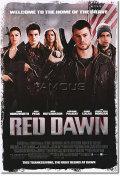 【映画ポスター】 若き勇者たち RED DAWN 両面 オリジナルポスター