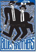 【映画ポスター グッズ】ブルース・ブラザース (THE BLUES BROTHERS) [Polish-SS]★ポーランド版★ [オリジナルポスター]