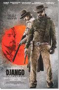 【映画ポスター】 ジャンゴ 繋がれざる者 (DJANGO UNCHAINED) INT-両面 オリジナルポスター