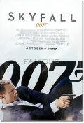 【映画ポスター】 007 スカイフォール (ダニエルクレイグ/SKYFALL) October IMAX-REG-両面 オリジナルポスター
