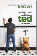 【映画ポスター/グッズ】テッド (ted/マークウォールバーグ) ADV-両面 オリジナルポスター