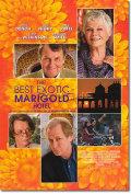【映画ポスター】 マリーゴールドホテルで会いましょう (THE BEST EXOTIC MARIGOLD HOTEL) 両面 オリジナルポスター