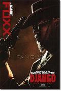 【映画ポスター】 ジャンゴ 繋がれざる者 (ジェイミーフォックス/DJANGO UNCHAINED) Foxx ADV-両面 オリジナルポスター