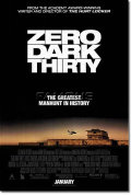 【映画ポスター】 ゼロダークサーティ (ZERO DARK THIRTY) REG-両面 オリジナルポスター