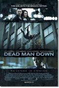 【映画ポスター】 デッドマンダウン (DEAD MAN DOWN) 両面 オリジナルポスター