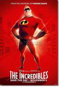 【映画ポスター】 Mr.インクレディブル (THE INCREDIBLES) Mr. Incredible ADV-両面 オリジナルポスター