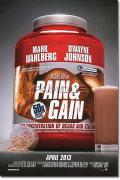 【映画ポスター】 ペイン&ゲイン 史上最低の一攫千金 (Pain & Gain) ADV-両面 オリジナルポスター