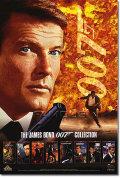 【映画ポスター】 007 ジェームズボンド (ロジャームーア) DVD/Video Roger Moore special edition-SS オリジナルポスター
