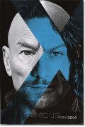 【映画ポスター】 X-MEN:フューチャー&パスト (X-Men: Days of Future Past) blue Dr. X ADV-両面 オリジナルポスター