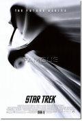 【訳ありポスター】 スタートレック (STAR TREK) ship/black on white-SS オリジナルポスター