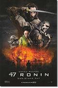 【映画ポスター】 47 RONIN (ハリウッド版忠臣蔵/キアヌリーブス) ADV-両面 オリジナルポスター