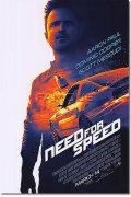 【映画ポスター】 ニードフォースピード (アーロンポール/NEED FOR SPEED) 両面 オリジナルポスター