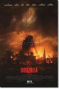 【映画ポスター】 GODZILLA (ゴジラ/渡辺謙 出演) REG-両面★ハリウッド版★ オリジナルポスター