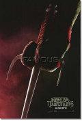 【映画ポスター】 ティーンエイジ ミュータント ニンジャ タートルズ (TMNT) Raphael red ADV-両面 オリジナルポスター