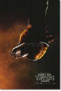 【映画ポスター】 ティーンエイジ ミュータント ニンジャ タートルズ (TMNT) Michelangelo ADV-両面 オリジナルポスター