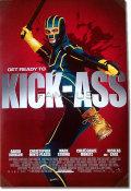 【映画ポスター】 キックアス (アーロンジョンソン/KICK-ASS) 両面 オリジナルポスター