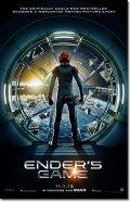 【訳ありポスター】 エンダーのゲーム (ENDER'S GAME/ハリソンフォード) /IMAX-ADV-両面 オリジナルポスター