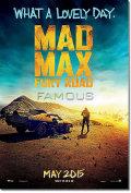 【映画ポスター】 マッドマックス 怒りのデスロード (トムハーディ/MAD MAX: FURY ROAD) /ADV-両面 オリジナルポスター