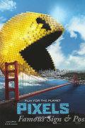 【映画ポスター】 ピクセル (アダムサンドラー/Pixels) /ADV-両面 オリジナルポスター