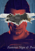 【映画ポスター グッズ】バットマン vs スーパーマン ジャスティスの誕生 (ヘンリー・カビル/Batman v Superman: Dawn of Justice) /ADV-Superman-両面 [オリジナルポスター]