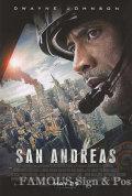 【映画ポスター】 カリフォルニアダウン (ドウェインジョンソン/San Andreas) /REG-両面 オリジナルポスター