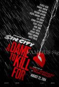 【映画ポスター】 シンシティ 復讐の女神 (ジェシカアルバ/Sin City) /REG-両面 オリジナルポスター