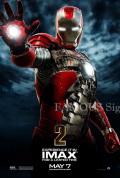【映画ポスター グッズ】アイアンマン2 (ロバート・ダウニー・Jr/IRON MAN 2) /ADV-両面 [オリジナルポスター]