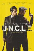 【映画ポスター】 コードネーム U.N.C.L.E. (ヘンリーカビル/The Man from U.N.C.L.E.) /ADV-両面 オリジナルポスター