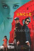 【映画ポスター】 コードネーム U.N.C.L.E. (ヘンリーカビル/The Man from U.N.C.L.E.) /REG-両面 オリジナルポスター