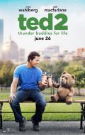 【映画ポスター】 テッド2 (ted/マークウォールバーグ) ★両面印刷Ver. オリジナルポスター