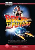【映画ポスター】 バックトゥザフューチャー (マイケルJフォックス/BACK TO THE FUTURE) /25周年記念片面印刷 オリジナルポスター