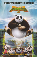 ★歳末10%OFFセール★ 【映画ポスター】 カンフーパンダ3 (ジャックブラック/Kung Fu Panda 3) /INT-ADV 両面 オリジナルポスター