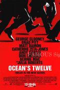 【映画ポスター】 オーシャンズ12 (ブラッドピット/OCEAN'S TWELVE) /片面印刷Ver REG-SS オリジナルポスター
