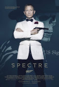 【映画ポスター グッズ】007 スペクター (ダニエル・クレイグ/SPECTRE) [REG-両面] [オリジナルポスター]