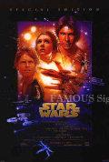 【映画ポスター】 スターウォーズ エピソード4/新たなる希望 (STAR WARS EPISODE IV A NEW HOPE) /特別編集 1997 両面  オリジナルポスター