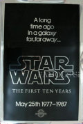 【映画ポスター】 スターウォーズ エピソード4/新たなる希望 (Star Wars) /10周年記念シルバー版 オリジナルポスター