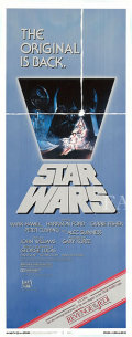 【映画ポスター】 スターウォーズ エピソード4/新たなる希望 (Star Wars) /1982年再版 オリジナルポスター