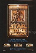 【映画ポスター】 スターウォーズ トリロジー (Star Wars TRILOGY) /リリース日変更前 両面 オリジナルポスター