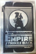【映画ポスター】 スターウォーズ エピソード5 帝国の逆襲 (Star Wars: The Empire Strikes Back) /10周年記念(銀) オリジナルポスター