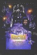 【映画ポスター】 スターウォーズ エピソード5 帝国の逆襲 (Star Wars: The Empire Strikes Back) /特別編 片面 オリジナルポスター