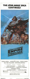 【映画ポスター】 スターウォーズ エピソード5 帝国の逆襲 (Star Wars: The Empire Strikes Back) /B-片面 オリジナルポスター