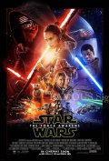 【映画ポスター】 スターウォーズ フォースの覚醒 (Star Wars: The Force Awakens) /INT-A-REG 両面 オリジナルポスター