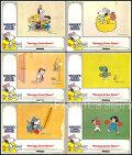【映画スチール写真6枚セット グッズ】スヌーピーの大冒険 (Snoopy Come Home!) ロビーカード