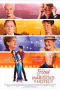 【映画ポスター】 マリーゴールドホテル 幸せへの第二章 (ジュディデンチ/The Second Best Exotic Marigold Hotel) /REG 両面 オリジナルポスター